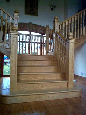 Hardwood stairs & staircases in Lincolnshire and Nottinghamshire